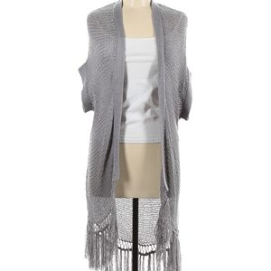 ✨Super soft Rock & Republic grey knit cardigan NWOT 🖤